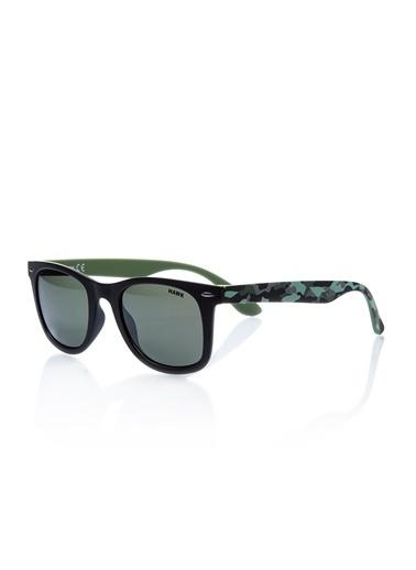 Hawk  Hw 1417 01 Unısex Güneş Gözlüğü Yeşil